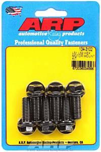 ARP #134-3102 Motor Mount Bolt Kit 6pt. LS1/LS2