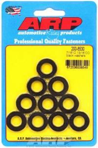 ARP #200-8530 Black Washers - 7/16 ID x 13/16 OD (10)