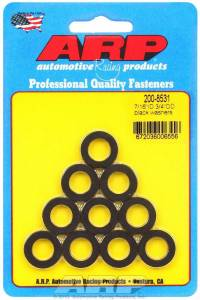 ARP #200-8531 Black Washers - 7/16 ID x 3/4 OD (10)