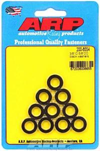 ARP #200-8554 Black Washers - 3/8 ID x 5/8 OD (10)