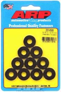 ARP #200-8588 Black Washers - 5/16 ID x 13/16 OD (10)