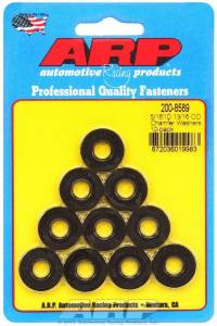 ARP #200-8589 Black Washers - 5/16 ID x 13/16 OD (10)