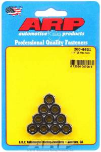 ARP #200-8631 1/4-28 Hex Nut w/Flange Kit (10pk)
