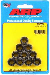 ARP #200-8634 Hex Nuts - 3/8-24 (10)