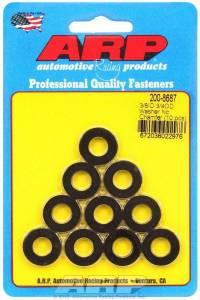 ARP #200-8687 Black Washers - 3/8 ID x 3/4 OD (10)
