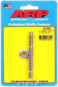 ARP #400-0303 Air Cleaner Stud Kit - 5/16 x 3.200 S/S