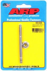 ARP #400-0306 Air Cleaner Stud Kit - 1/4 x 3.200 S/S