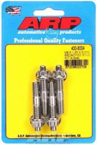 ARP #400-8004 S/S Stud Kit - (4) M8 x 1.25in x  51mm