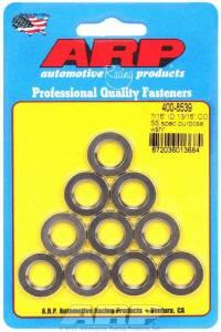 ARP #400-8539 S/S Flat Washers - 7/16 ID x 13/16 OD (10)