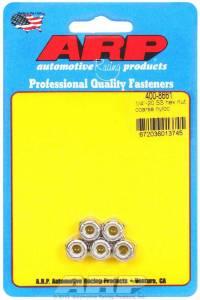 ARP #400-8661 S/S Hex Nyloc Nuts 1/4-20 (5)