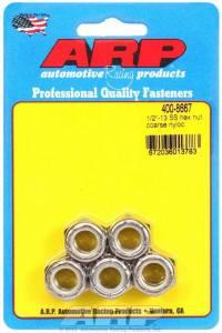 ARP #400-8667 S/S Hex Nyloc Nuts 1/2-13 (5)
