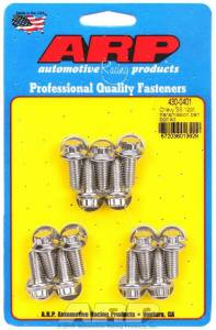 ARP #430-0401 S/S Trany Pan Bolt Kit 12pt.