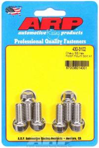 ARP #430-3102 Chevy S/S Motor Mount to Block Bolt Kit - 6pt.