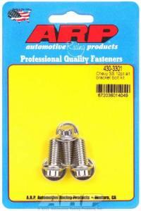 ARP #430-3301 S/S Chevy Alternator Bracket Bolt Kit 12pt.