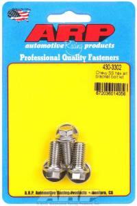 ARP #430-3302 S/S Chevy Alternator Bracket Bolt Kit 6pt.