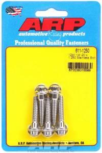ARP #611-1250 S/S Bolt Kit - 12pt. (5) 1/4-20 x 1.250