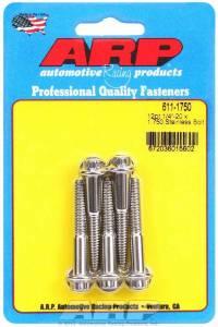 ARP #611-1750 S/S Bolt Kit - 12pt. (5) 1/4-20 x 1.750