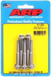 ARP #611-2000 S/S Bolt Kit - 12pt. (5) 1/4-20 x 2.000