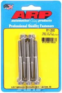 ARP #611-2500 S/S Bolt Kit - 12pt. (5) 1/4-20 x 2.500