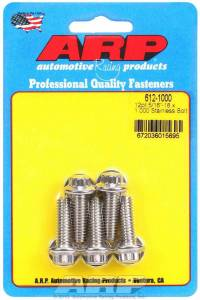 ARP #612-1000 S/S Bolt Kit - 12pt. (5) 5/16-18 x 1.000