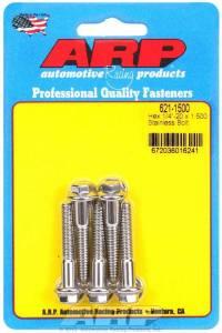 ARP #621-1500 S/S Bolt Kit - 6pt. (5) 1/4-20 x 1.500