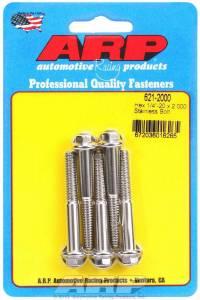 ARP #621-2000 S/S Bolt Kit - 6pt. (5) 1/4-20 x 2.000