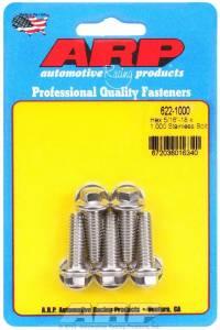 ARP #622-1000 S/S Bolt Kit - 6pt. (5) 5/16-18 x 1.000