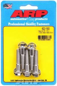 ARP #622-1500 S/S Bolt Kit - 6pt. (5) 5/16-18 x 1.500