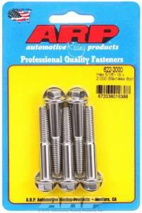 ARP #622-2000 S/S Bolt Kit - 6pt. (5) 5/16-18 x 2.000