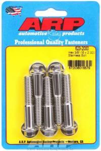 ARP #623-2000 S/S Bolt Kit - 6pt. (5) 3/8-16 x 2.000