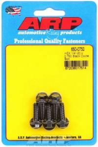 ARP #650-0750 Bolt Kit - 6pt. (5) 1/4-20 x .750