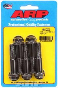 ARP #655-2000 Bolt Kit - 6pt. (5) 7/16-14 x 2.000