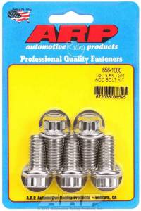 ARP #656-1000 S/S Bolt Kit - 12pt. (5) 1/2-13 x 1.000