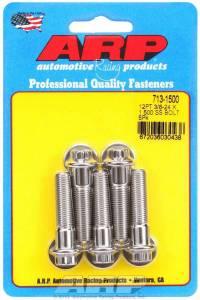 ARP #713-1500 S/S Bolt Kit - 12pt. (5) 3/8-24 x 1.500