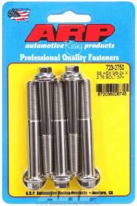 ARP #723-2750 S/S Bolt Kit - 6pt. (5) 3/8-24 x 2.750