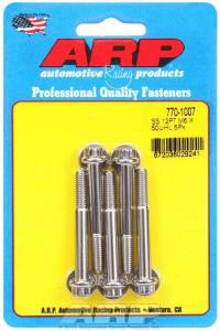 ARP #770-1007 S/S Bolt Kit - 12pt. (5) 6mm x 1.00 x 50mm