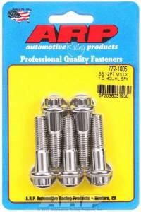 ARP #772-1005 S/S Bolt Kit - 12pt. (5) 10mm x 1.5 x 40mm