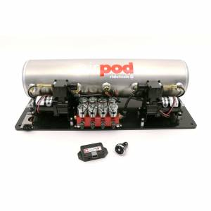 RIDETECH #30414700 5 Gallon BigRed AirPod w /RidePro X Control