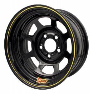 AERO RACE WHEELS #50-104530 15x10 3in. 4.50 Black