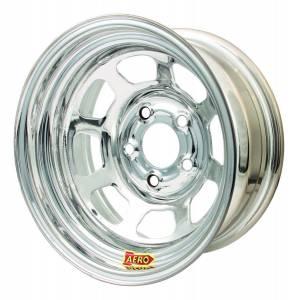 AERO RACE WHEELS #50-274735 15x7 3.5in. 4.75 Chrome