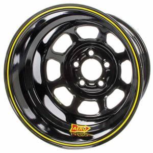 AERO RACE WHEELS #51-104750RF 15x10 5in. 4.75 Black
