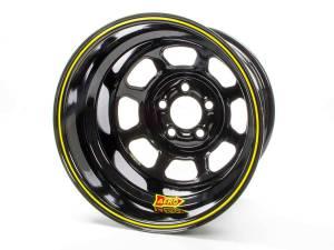 AERO RACE WHEELS #51-185030 15x8 3in 5.00 Black