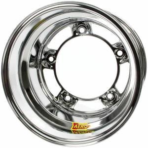 AERO RACE WHEELS #51-200555RF 15x10 5.5in Wide 5 Chrome