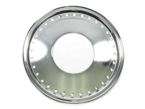 AERO RACE WHEELS #54-500000 Mud Buster 1pc Ring and Cover Chrome