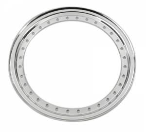AERO RACE WHEELS #54-500004 Outer Beadlock Ring Chrome