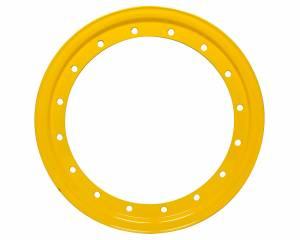 AERO RACE WHEELS #54-500019 Replacement Beadlock Ring 13in Yellow