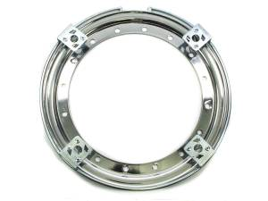 AERO RACE WHEELS #54-500020 13in Outer Bead Lock Ring Chrome
