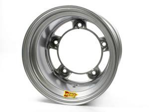 AERO RACE WHEELS #58-000540 15x10 4in Wide 5 Silver