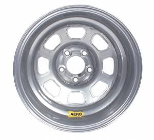 AERO RACE WHEELS #58-004730 15x10 3in 4.75 Silver