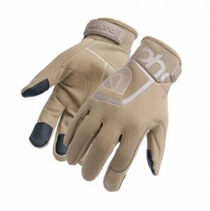 ALPHA GLOVES #AG02-05-S Standard Mechanic Coyote Small